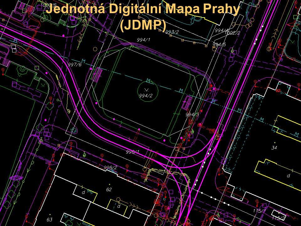 Jednotná Digitální Mapa Prahy (JDMP)