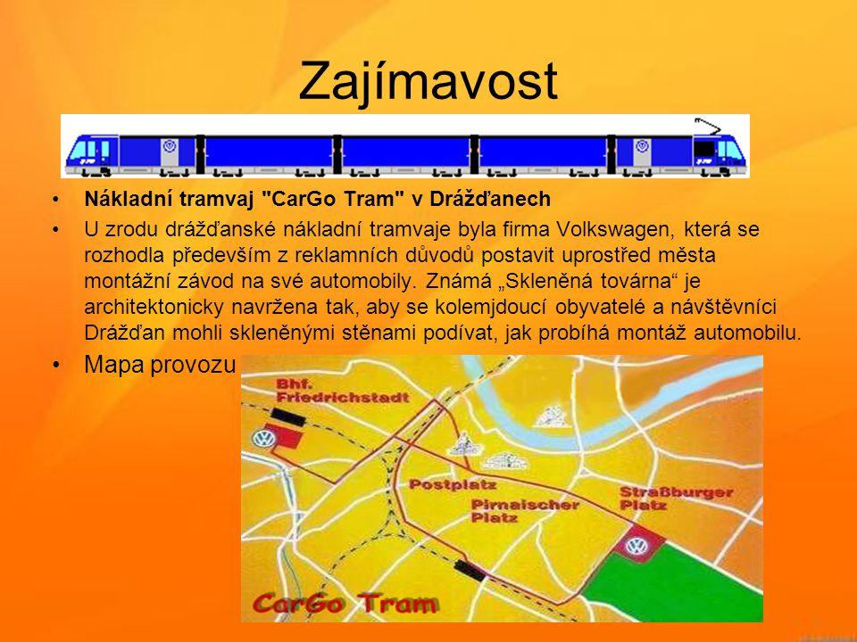 Zajímavost •Nákladní tramvaj