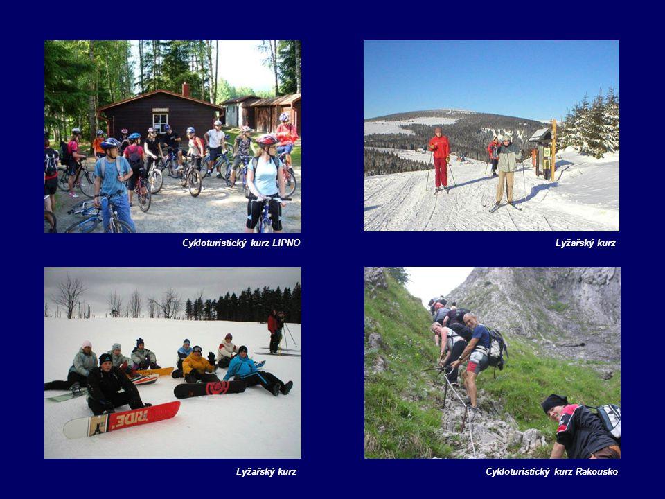 Cykloturistický kurz LIPNOLyžařský kurz Cykloturistický kurz Rakousko