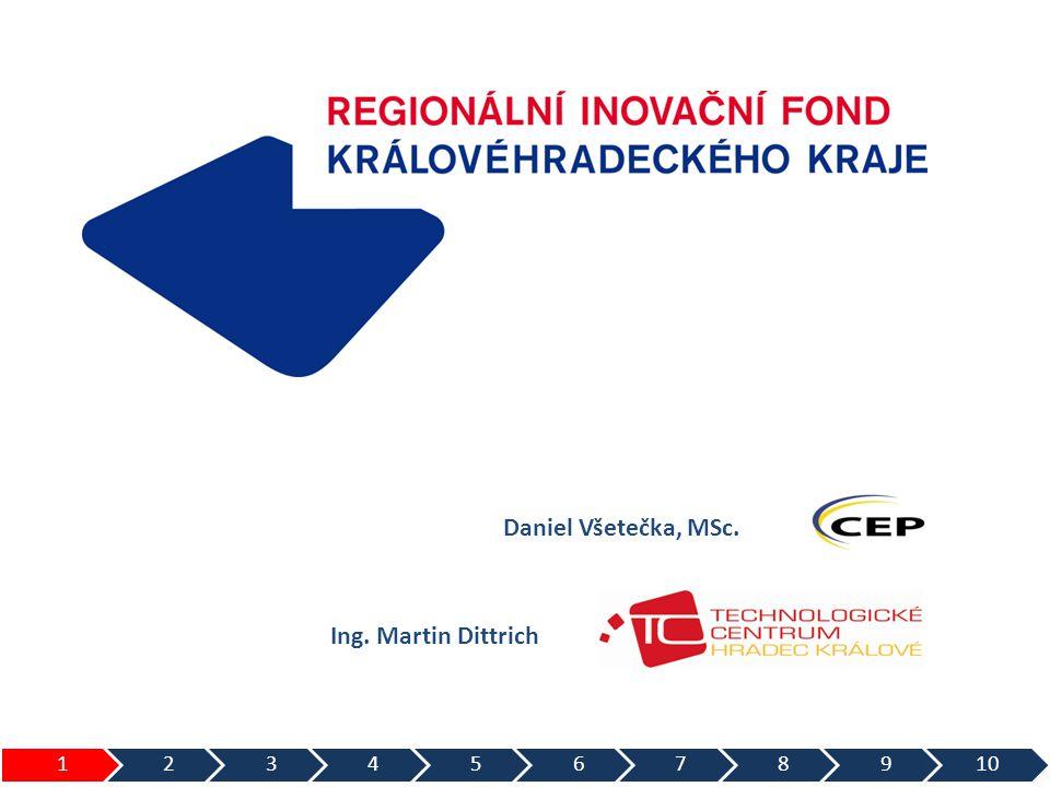 Daniel Všetečka, MSc. Ing. Martin Dittrich 12345678910