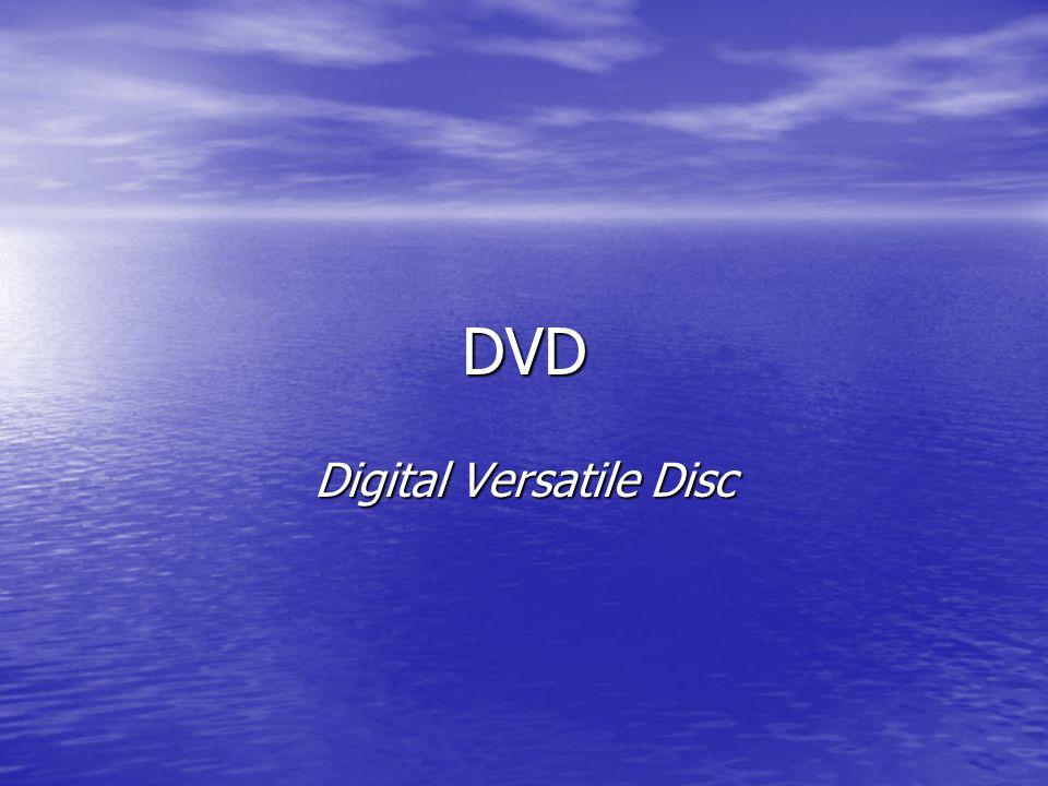 DVD Digital Versatile Disc