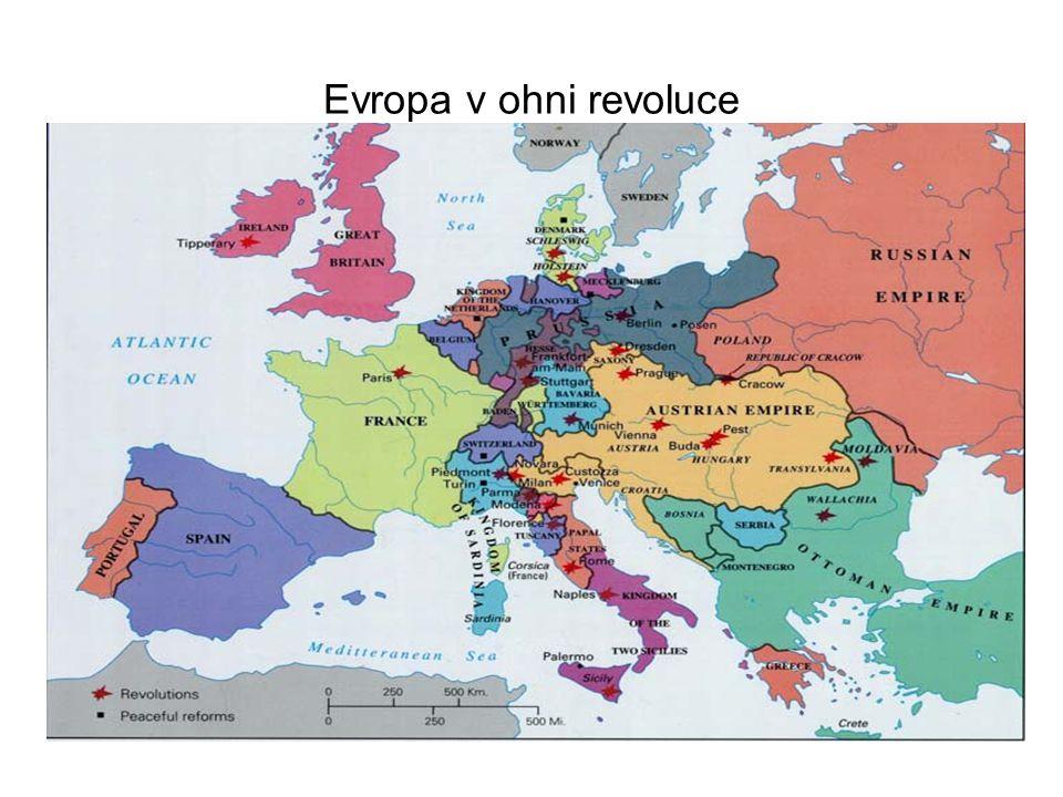 Evropa v ohni revoluce