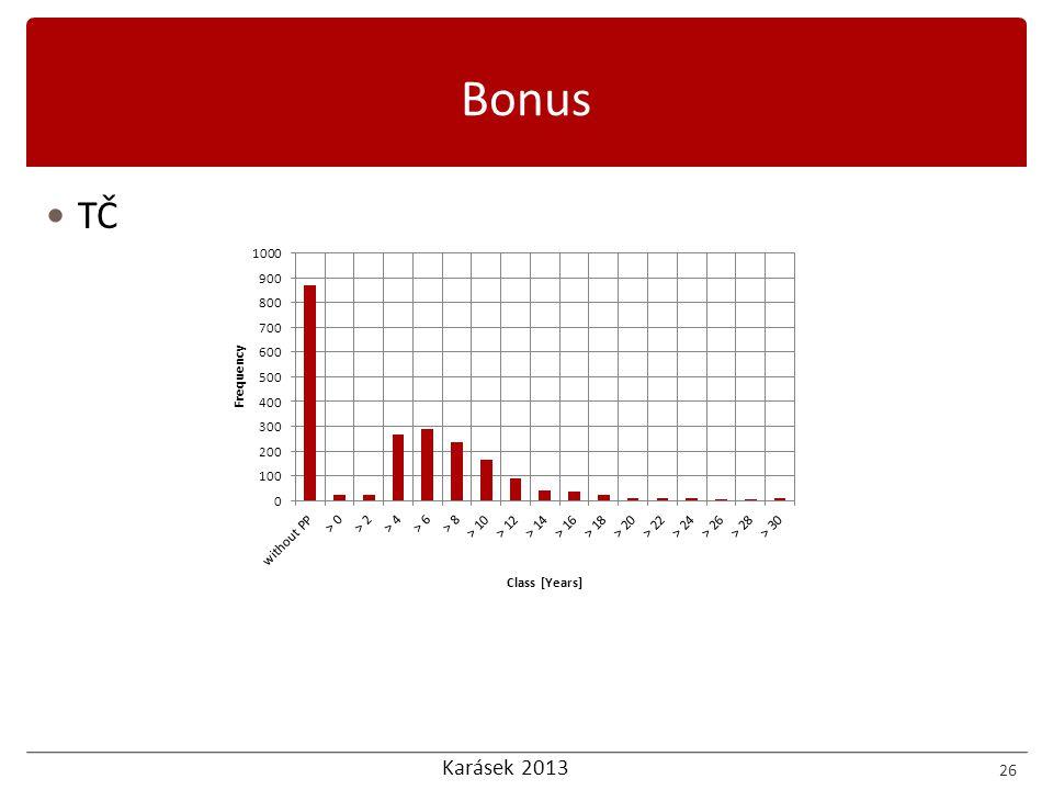 Karásek 2013 26 Bonus  TČ