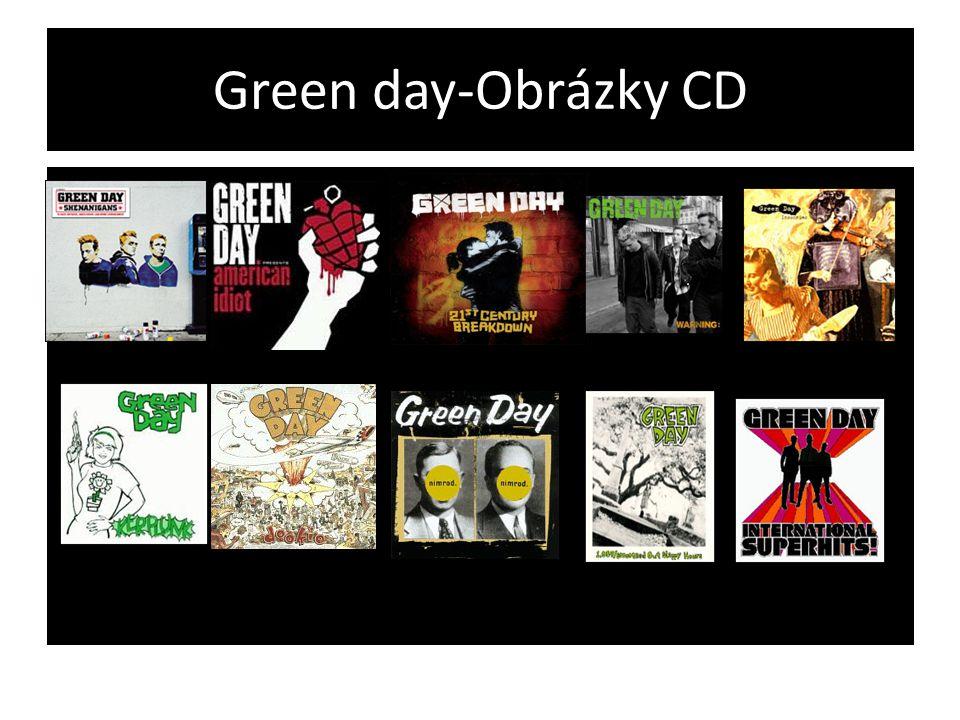 Green day-Obrázky CD