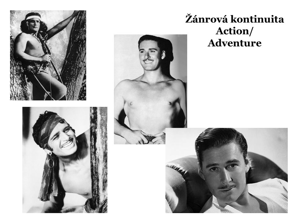 Žánrová kontinuita Action/ Adventure