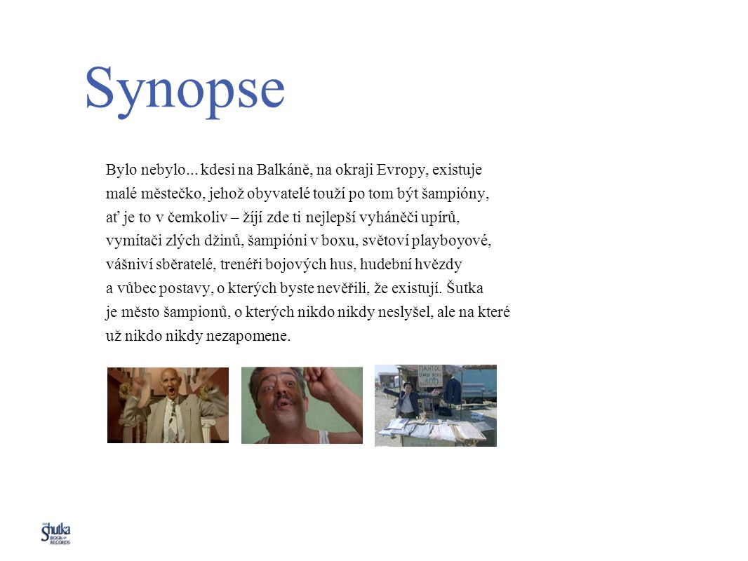 Synopse Bylo nebylo...