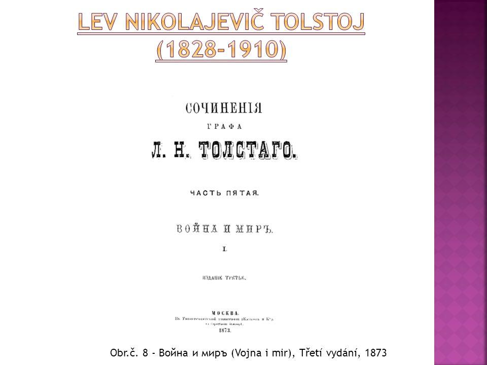 Obr.č. 8 - Война и миръ (Vojna i mir), Třetí vydání, 1873