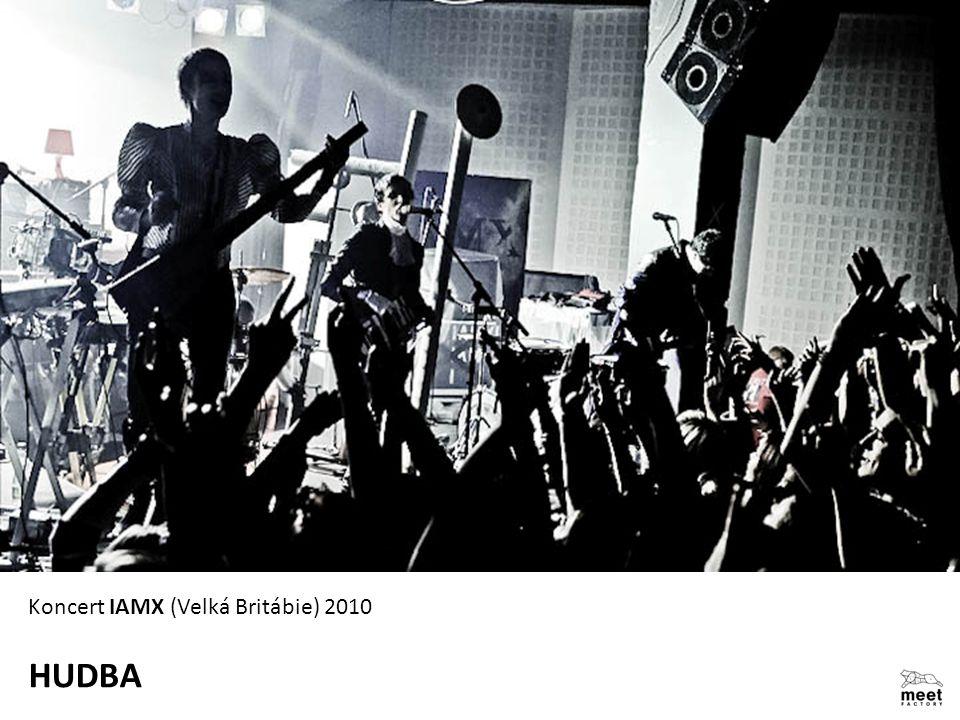 HUDBA Koncert IAMX (Velká Britábie) 2010