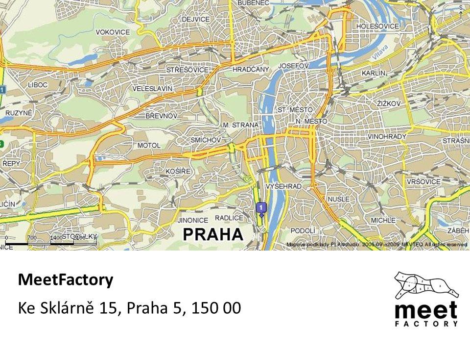 MeetFactory Ke Sklárně 15, Praha 5, 150 00