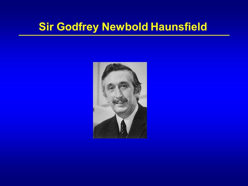 Sir Godfrey Newbold Haunsfield