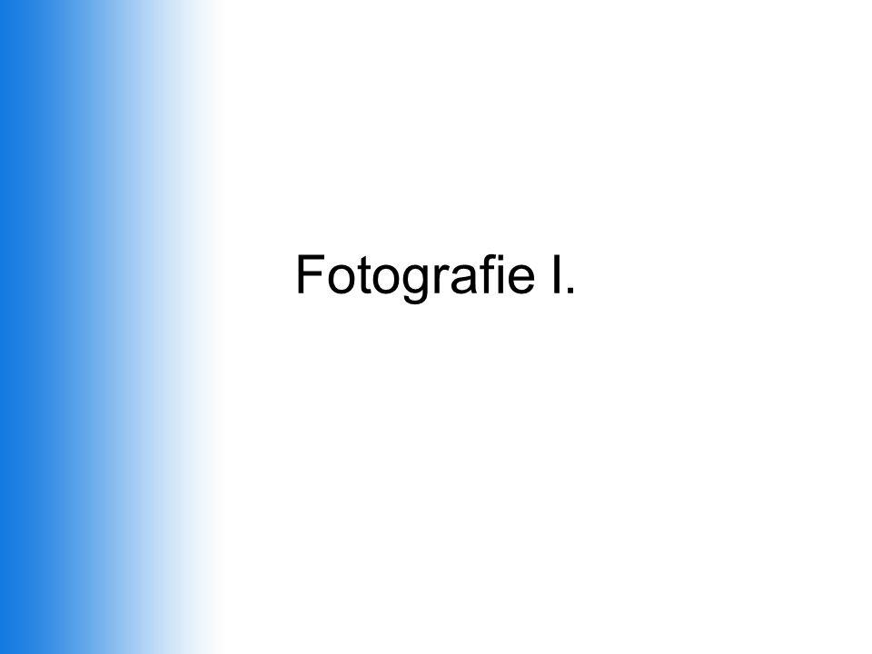Fotografie I.