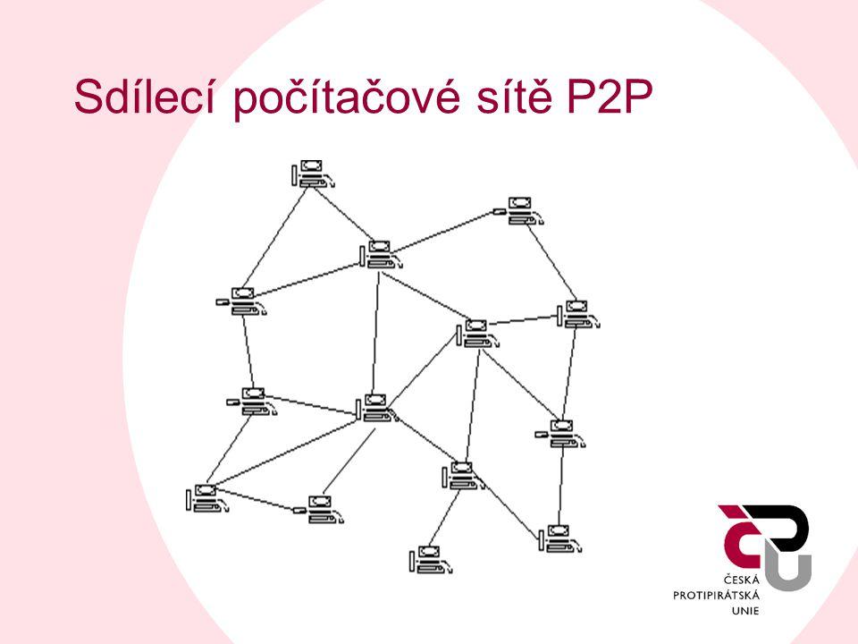 Sdílecí počítačové sítě P2P