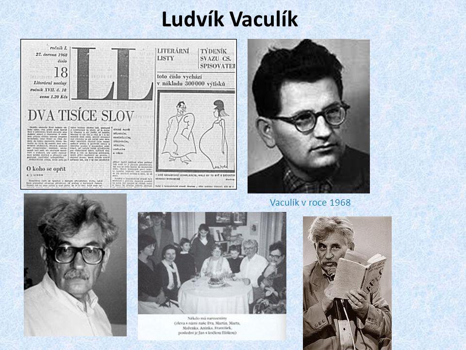Ludvík Vaculík Vaculík v roce 1968