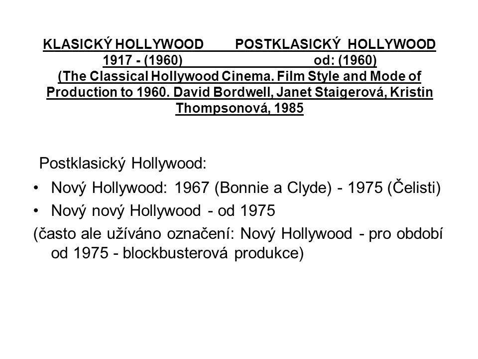 A Woman Under the Influence – Cassavetes, 1974 •John Cassavetes – důraz na herecký výkon, důležitější než dramatická struktura- dlouhé záběry, snímané převážně teleobjektivem, zaměřují pozornost na herecké výkony.