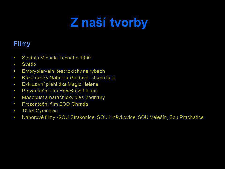 Kontakt Zdeněk Mauric Švermova 1173, 389 01 Vodňany Mobil: +420 606 182 053 E-mail: Videoafima@tiscali.cz