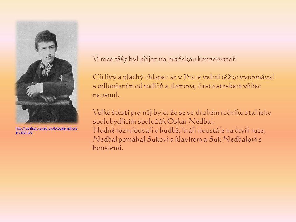 V roce 1891 byl vybrán do nově se utvářejícího smyčcového kvarteta, později pojmenovaného České kvarteto.