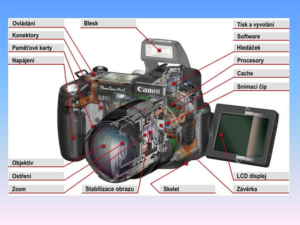 Základní třída Automatické modely bez zoomu nebo jen s maximálně 3x optickým zoomem.
