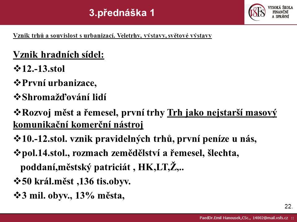 21. PaedDr.Emil Hanousek,CSc., 14002@mail.vsfs.cz :: 2.přednáška 5 Vznik jazyka. Vznik písma a forem jeho zachycení. Vývoj prostředků pro přenos písem