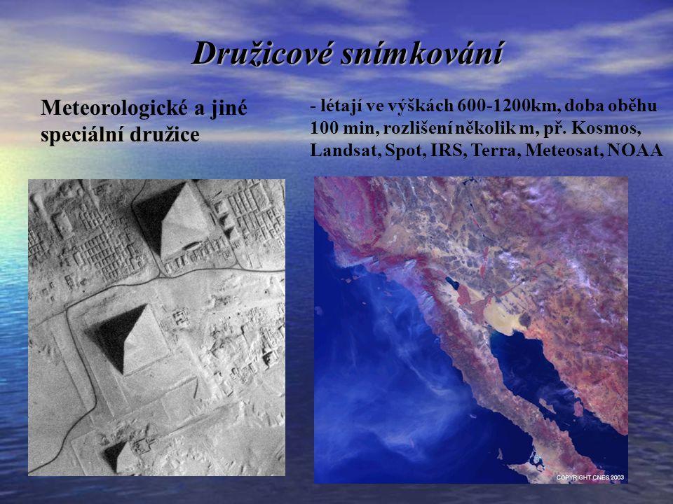 ZDROJE DAT Data typu Landsat (5-7), pixel 120 – 15 m: stř.