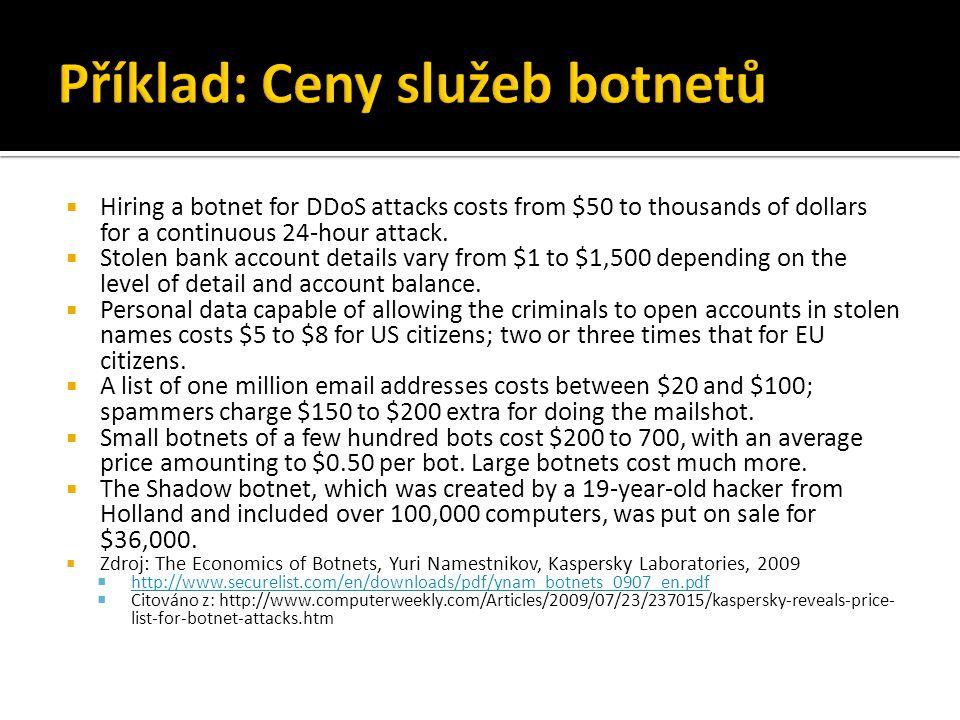 spamem 77% uživatelů PC v ČR ZDROJ: WIP 2008, N=1245