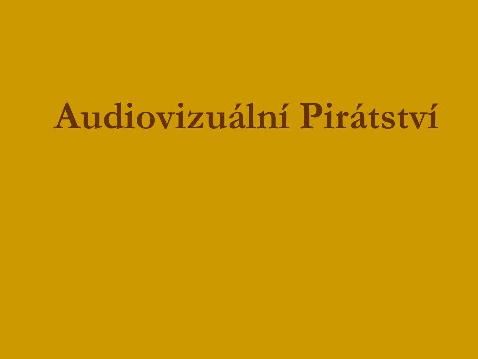 Audiovizuální Pirátství