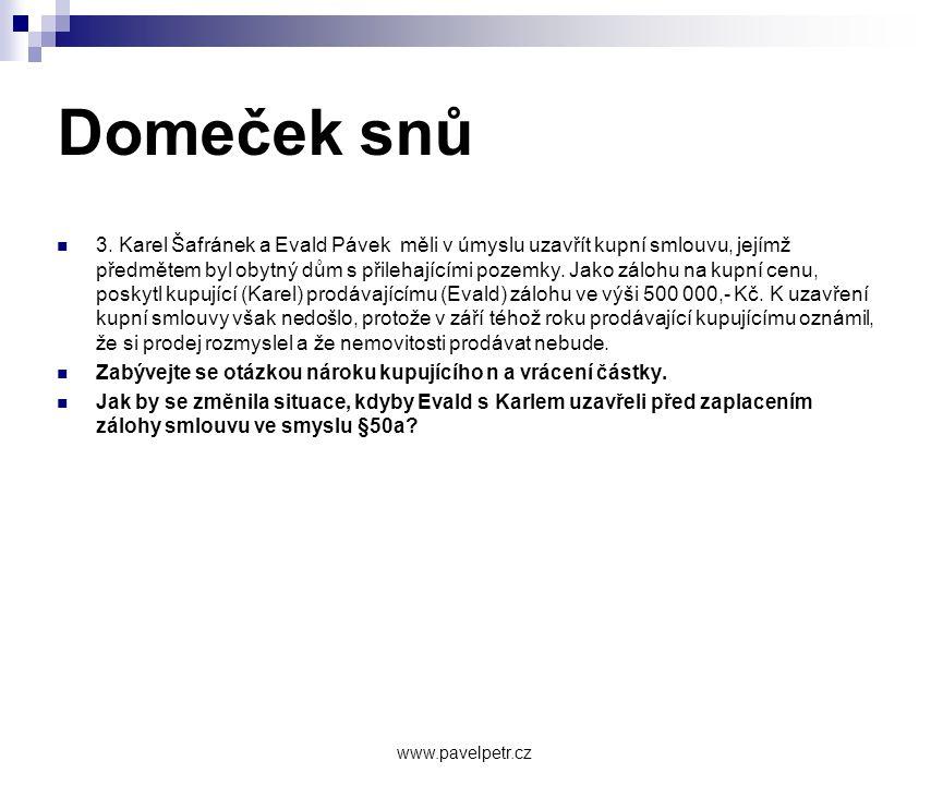 Domeček snů  3.