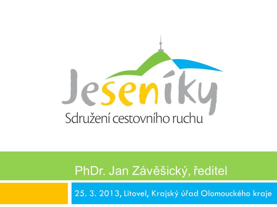 25. 3. 2013, Litovel, Krajský úřad Olomouckého kraje PhDr. Jan Závěšický, ředitel PhDr. Jan Závěšický, ředitel