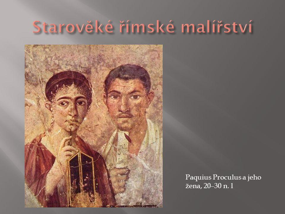 Paquius Proculus a jeho žena, 20–30 n. l
