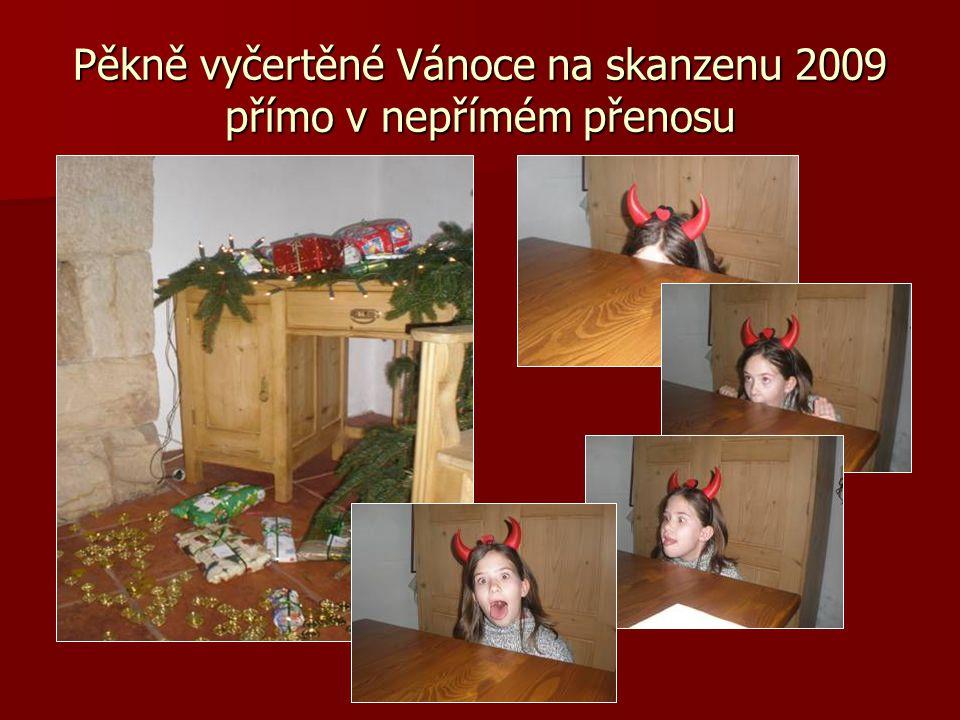 Pěkně vyčertěné Vánoce na skanzenu 2009 přímo v nepřímém přenosu