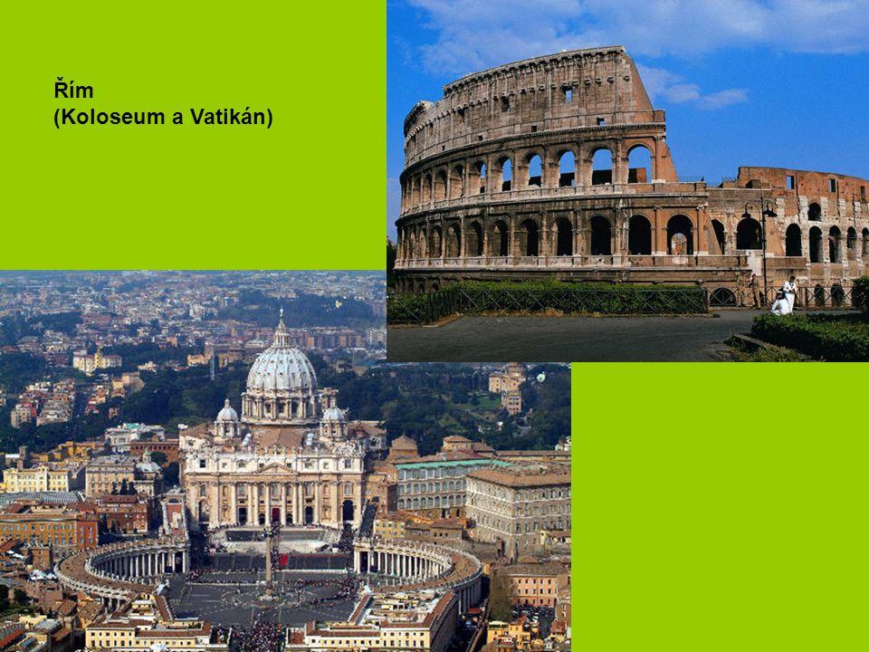 Řím (Koloseum a Vatikán)