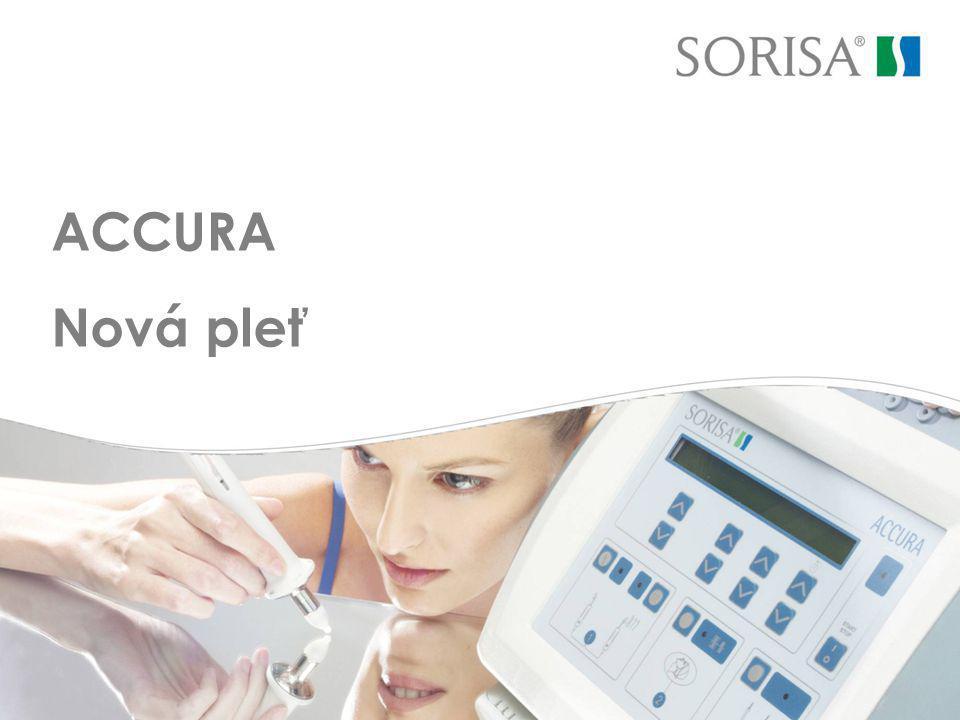 SOR Internacional, S.A ACCURA: Popis přístroje LIFTING ROLLER + Flash Actif Inovativní forma pro liftingové ošetření.
