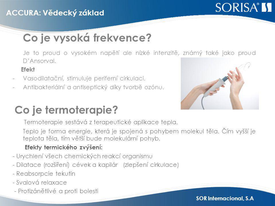 SOR Internacional, S.A ACCURA: Vědecký základ Co je to elektroporace.