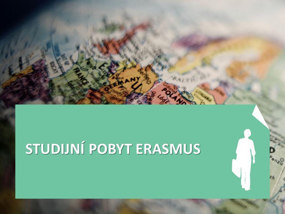 STUDIJNÍ POBYT ERASMUS