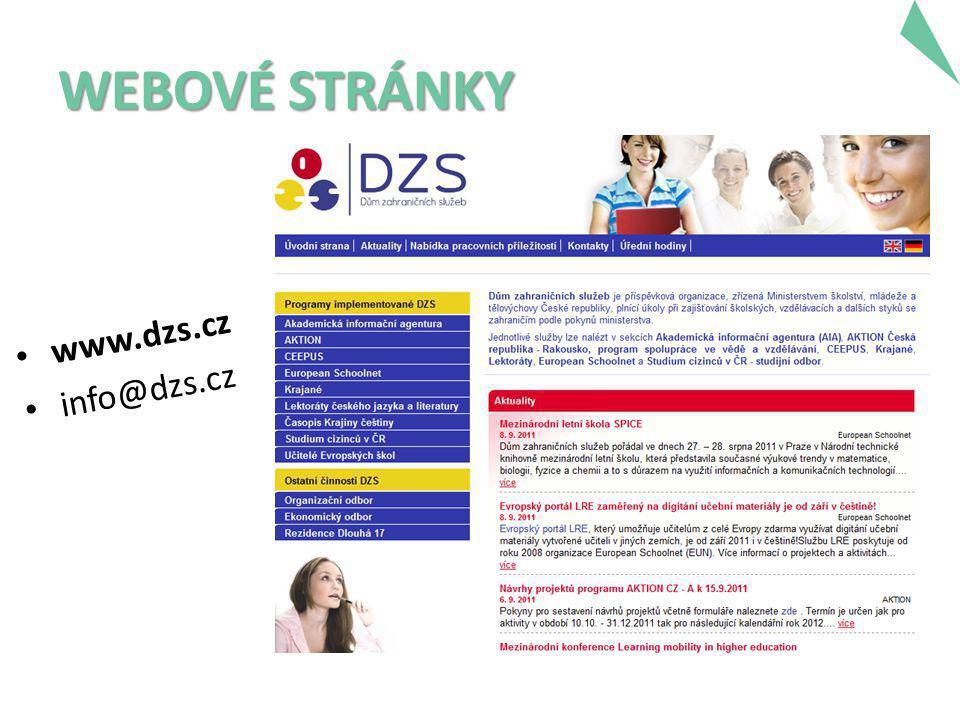 WEBOVÉ STRÁNKY • www.dzs.cz • info@dzs.cz