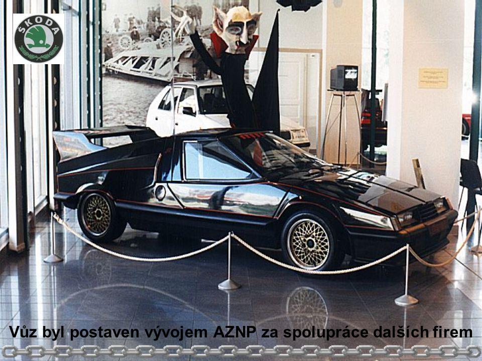Vůz byl postaven vývojem AZNP za spolupráce dalších firem
