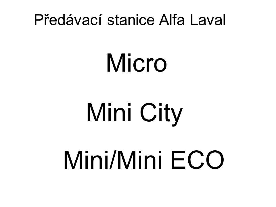 Micro Mini City Mini/Mini ECO Předávací stanice Alfa Laval