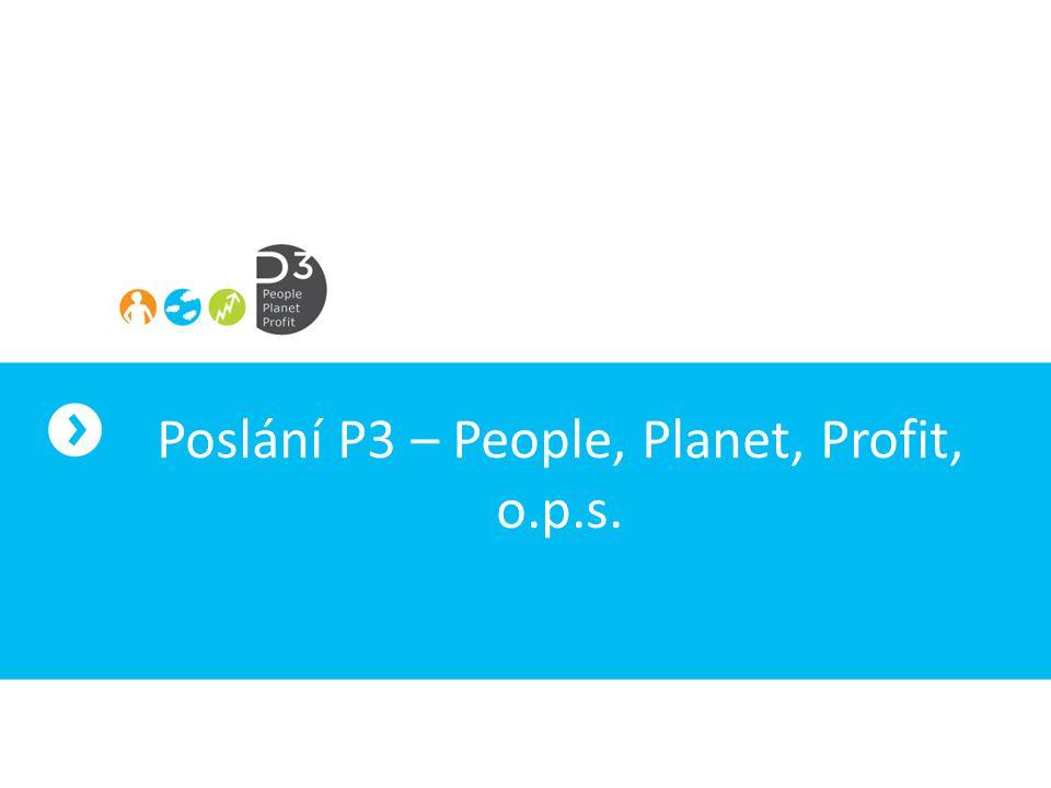 P3 přináší a prosazuje nové přístupy v podnikání s pozitivním dopadem na společnost.