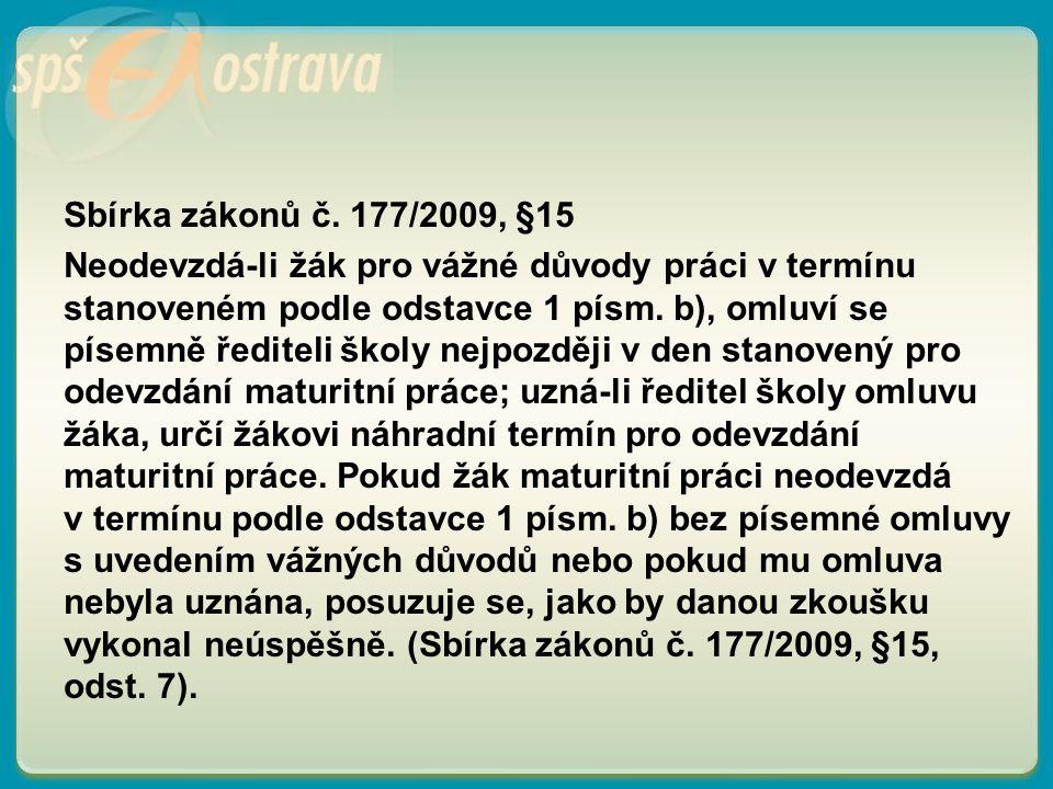 Sbírka zákonů č.