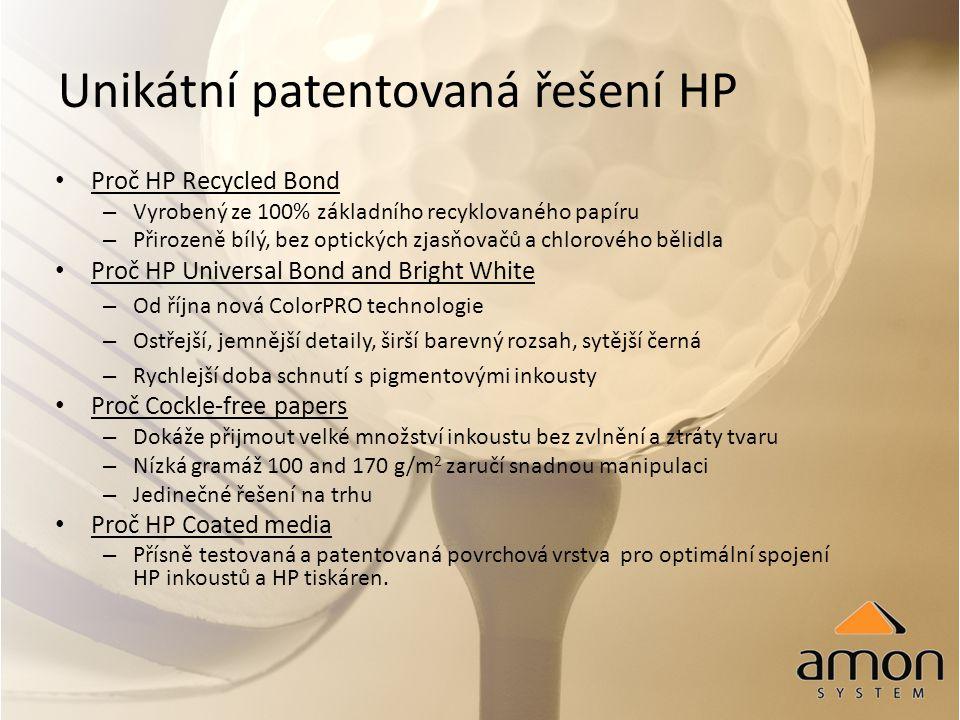 HP LFP grafická tisková média