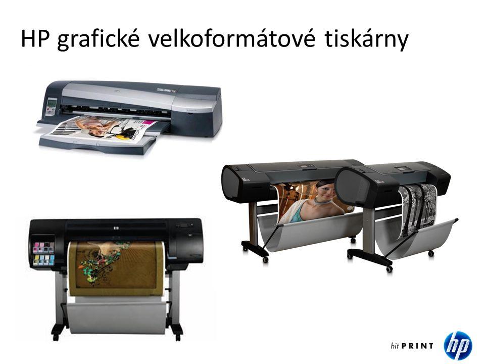 HP technické velkoformátové tiskárny