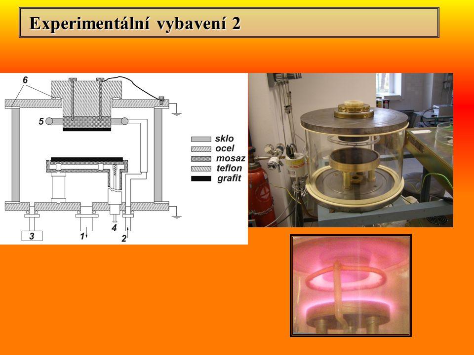 Experimentální vybavení 2 Experimentální vybavení 2