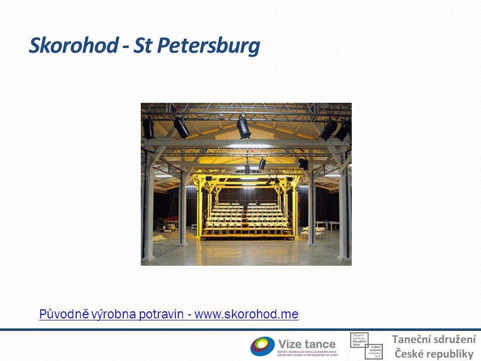 Skorohod - St Petersburg Původně výrobna potravin - www.skorohod.me