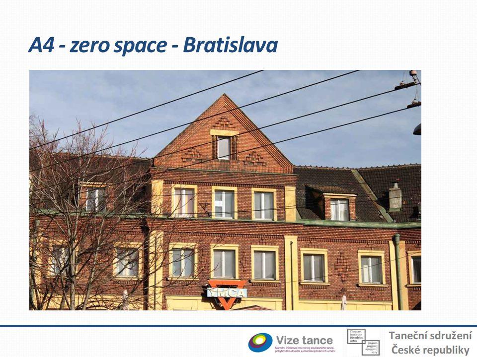 A4 - zero space - Bratislava