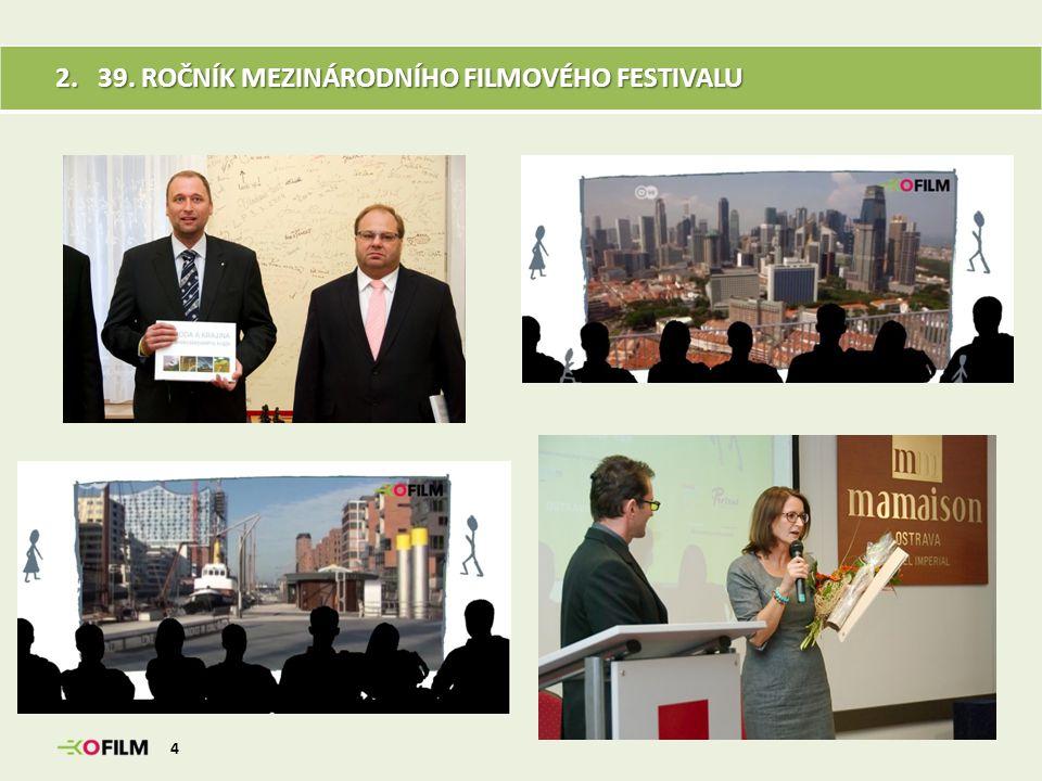 39.ROČNÍK MEZINÁRODNÍHO FILMOVÉHO FESTIVALU Hlavním tématem 39.
