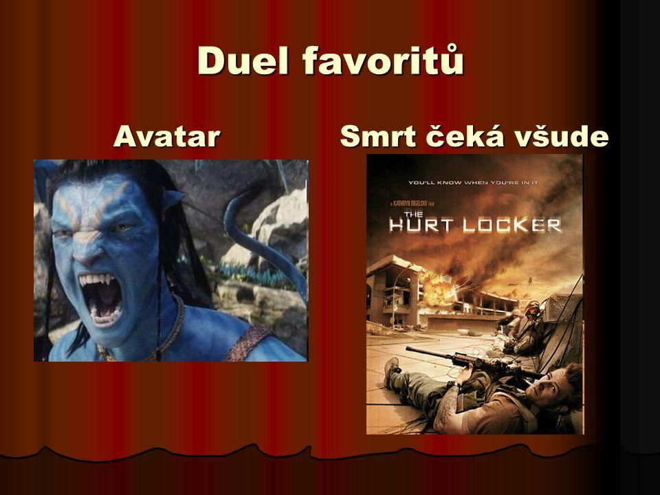 Ocenění Avatar  Kamera  Výprava a dekorace  Vizuální efekty Smrt čeká všude  Nejlepší film  Původní scénář  Střih  Zvuk  Zvukové efekty
