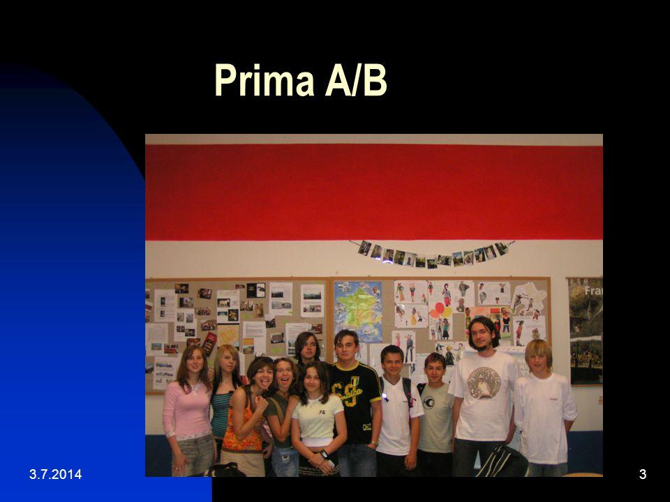 Prima A/B 3.7.20143
