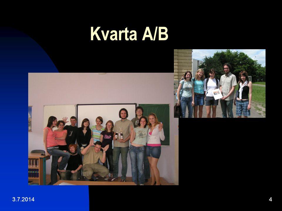 Kvarta A/B 3.7.20144