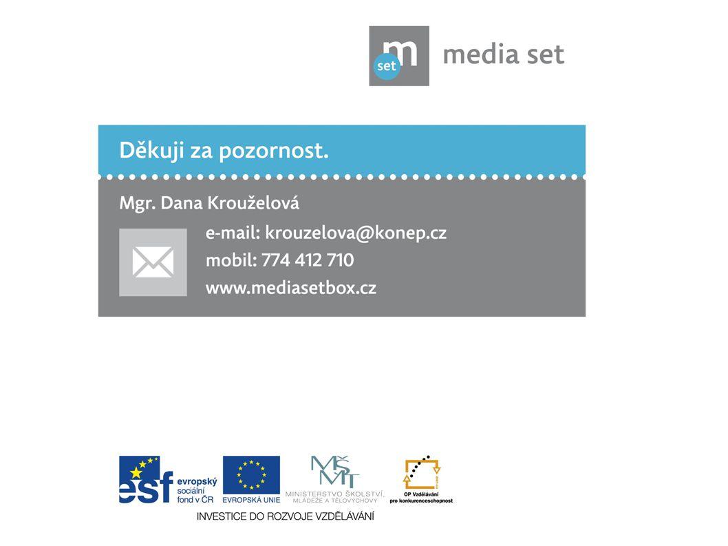 15 Děkuji za pozornost. Mgr. Dana Krouželová e-mail: krouzelova@konep.cz www. mediasetbox.cz mobil: 774 412 710