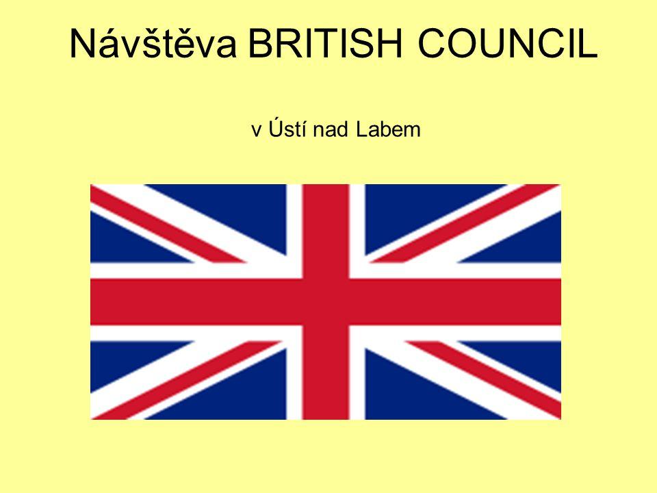 Návštěva BRITISH COUNCIL v Ústí nad Labem