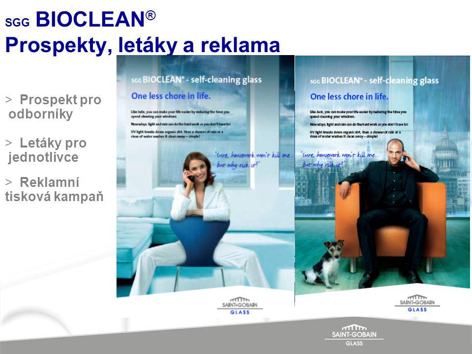 SGG BIOCLEAN ® Prospekty, letáky a reklama >Prospekt pro odborníky >Letáky pro jednotlivce >Reklamní tisková kampaň